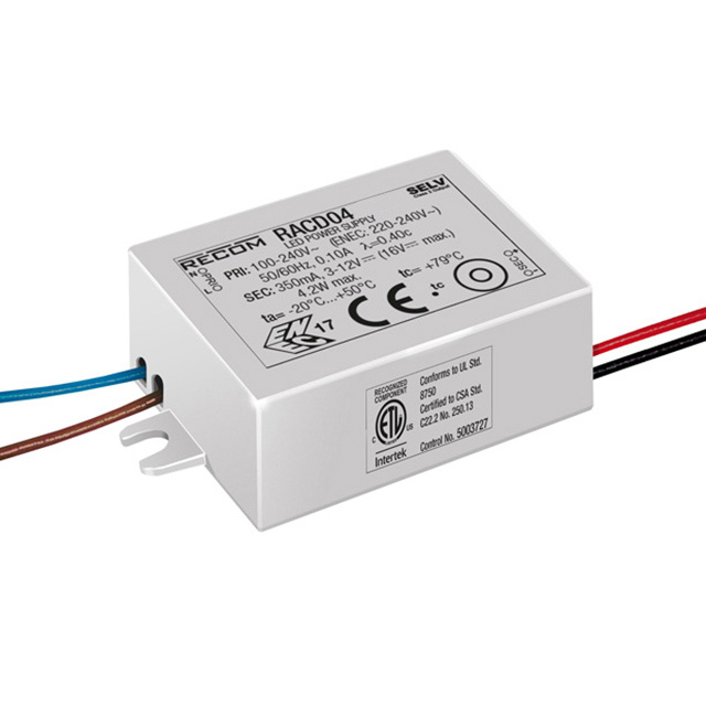 Conduit Led Driver 4watt To Fit 20mm Connection And Outlet